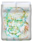 Schopenhauer Duvet Cover