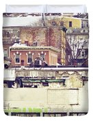 Schuylkill Scenery Duvet Cover