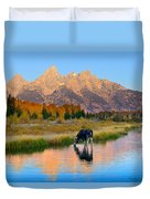 Schwabacher Morning Light  Duvet Cover