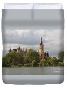 Schwerin Palace - Germany Duvet Cover