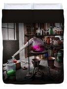 Science - Chemist - Chemistry For Medicine  Duvet Cover