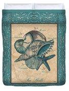 Scientific Drawing Duvet Cover by Debbie DeWitt