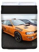 Scooby Subaru Duvet Cover