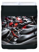 Scooter Brigade Duvet Cover