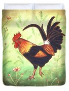 Scooter The Rooster Duvet Cover