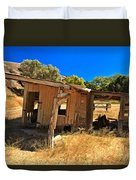Scorpion Ranch Remnants Duvet Cover
