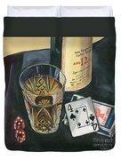 Scotch And Cigars 2 Duvet Cover by Debbie DeWitt