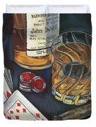Scotch And Cigars 4 Duvet Cover by Debbie DeWitt