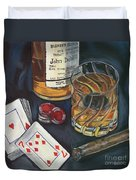 Scotch And Cigars 4 Duvet Cover