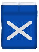 Scotland Flag Duvet Cover
