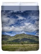 Scotland Loch Awe Mountain Landscape Duvet Cover