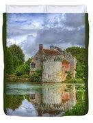 Scotney Castle Reflections Duvet Cover