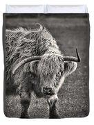 Scottish Highland Cow Duvet Cover