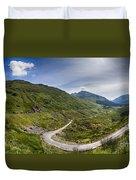 Scottish Highlands Landscape Duvet Cover