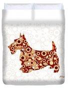 Scottish Terrier - Animal Art Duvet Cover