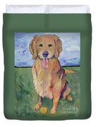 Scout Duvet Cover by Pat Saunders-White
