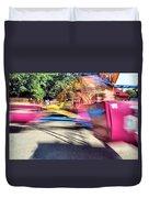 Scrambler Blur Duvet Cover