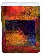 Scratch  -  Prints Available But Original Sold Duvet Cover