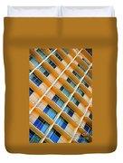Scratchy Hotel Facade Duvet Cover