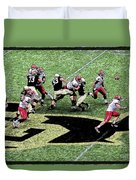 Screen Pass Duvet Cover