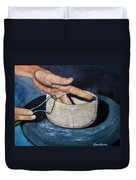 Sculpted By The Masters Hands Duvet Cover