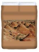 Sculpted Colorado Sandstone Paria Canyon Duvet Cover