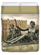 Sculptures In The Garden - 1  Duvet Cover