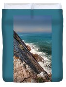 Sea And Cliff Duvet Cover