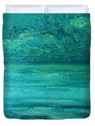 Sea Blue Duvet Cover