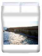 Sea Caves Duvet Cover