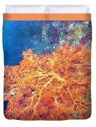 Sea Fans 6 Duvet Cover