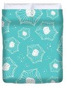 Sea Flower Duvet Cover