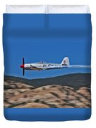 Sea Fury Fly-by Duvet Cover
