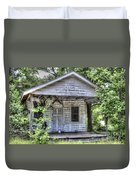 Sea Island Shack Duvet Cover