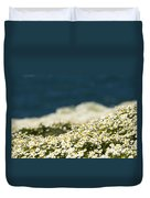 Sea Mayweed And The Sea Duvet Cover