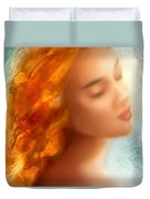 Sea Nymph Dream Duvet Cover by Michael Rock