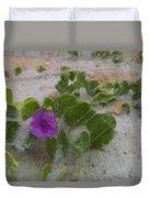 Sea Oat Purple Duvet Cover