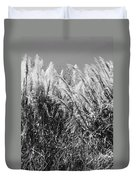Sea Oats In The Glades Duvet Cover