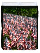 Sea Of Flags Duvet Cover