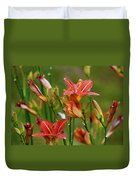 Sea Of Lilies Duvet Cover