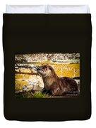 Sea Otter Duvet Cover