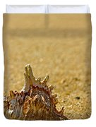 Sea Shell By The Sea Shore Duvet Cover