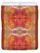Sea Shell Of A Yogi Duvet Cover