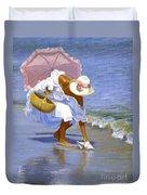 Sea Shell Pink Duvet Cover