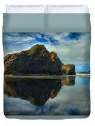 Sea Stack Swirls Duvet Cover
