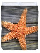 Sea Star On Deck 2 Duvet Cover
