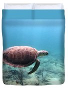 Sea Turtle 5 Duvet Cover