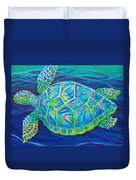 Sea Turtle I Duvet Cover