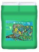 Sea Turtle Sam Duvet Cover