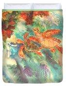 Sea Turtles Duvet Cover